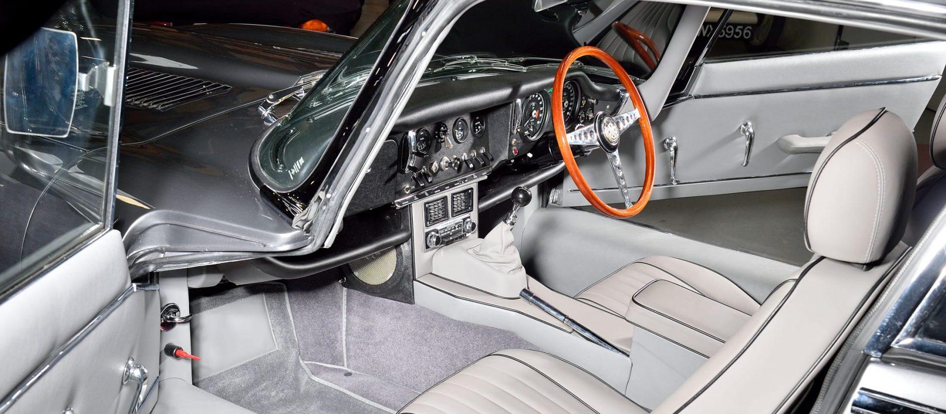 Interior of Jaguar E Type S1½ 2+2 1967